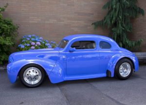 1940 Blue Ford